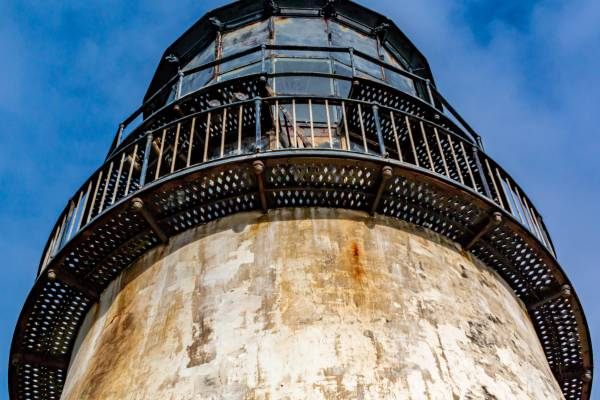 Cape Disappointment Lighthouse  close up photo