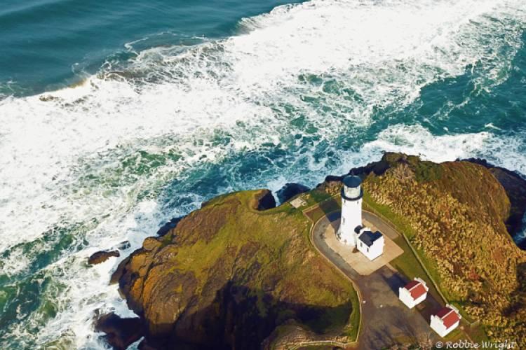 North Head Lighthouse Aerial