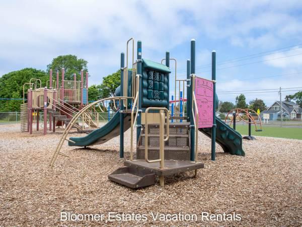 Ocean Park, WA elementary school playground