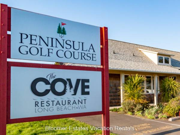 Play a round of golf and enjoy an amazing lunch or dinner at the Cove Restaurant