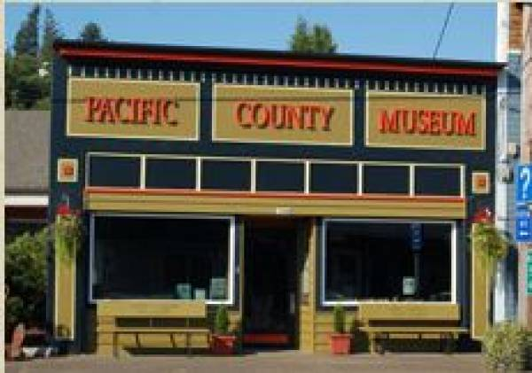 Pacific County Historical Society Museum photo of the building