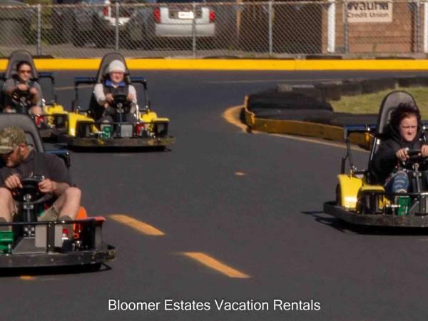 Go cart rides