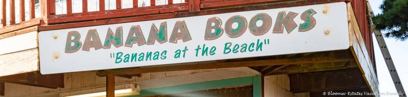 Banana Books in Long Beach Washington