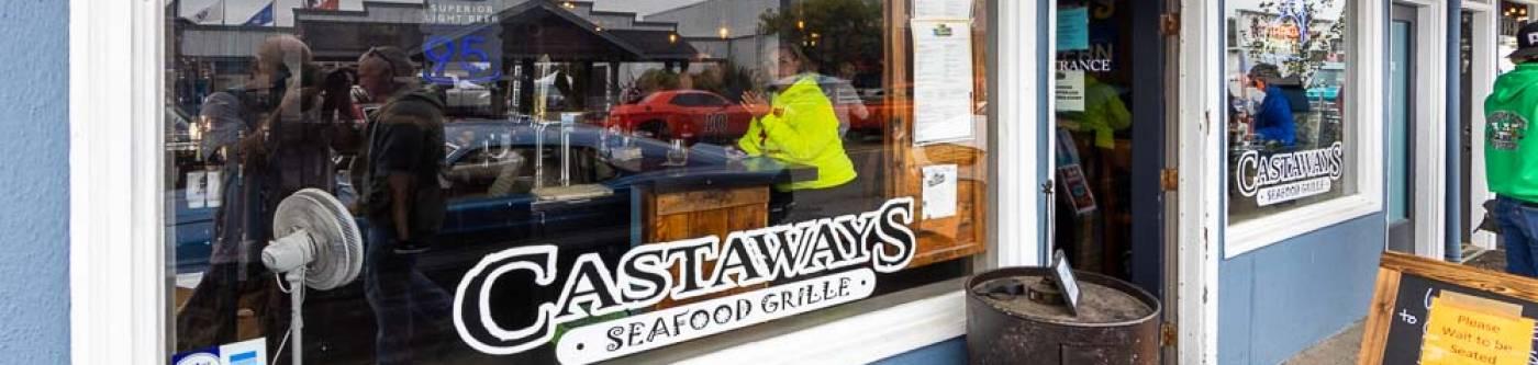 Castaways restaurant downtown Long Beach Washington